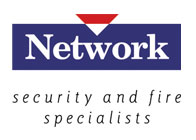 Network Security and Fire Logo